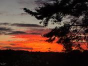 Sunset on Flatwood Rd. -005