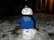 UK snowman