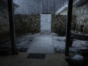 Hail on Lake  Greenwood  3-24-12