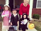 Trick a Treating at Grandmas