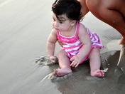 Got my toes in the sand