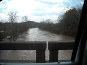 Yadkin River @ Roaring River bridge, Roaring River, NC