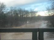 Yadkin River @Roaring River bridge, Roaring River, NC