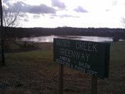 Muddy Creek Greenway flood
