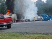 Here's the pic again of the truck fire