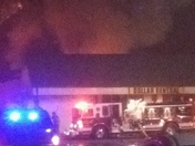 Fire at Dollar General Jonesville