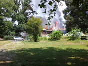 Sharon Rd fire