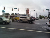wreck at intersection