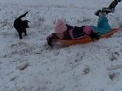 Bo chasing Emily