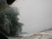Sandy Ridge has snow!