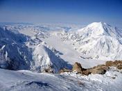 Pilot Mountain in SNOW!!
