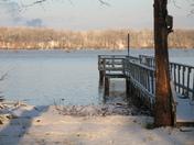 Snow day at High Rock Lake