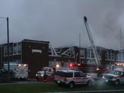 Fire at Meadows of Dan School