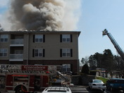 Fire at Ashbrook Pointe Aaprtments