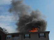 Fire at Ashbrook Pointe Apartments