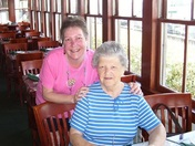 Mom & I at Elijah's on the Wilmington Riverfront