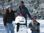 Tatum family's winter friend