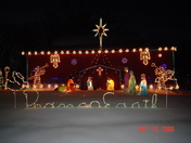 Life size Nativity Sean