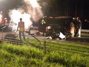 car crash on hwy 29 man going wrong way