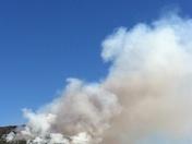 "Pilot Mt ""controlled"" fire"