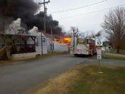 Trailer Fire 2 Winston Salem 12/12/12