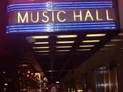 Radio City Music Hall!!
