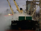 Smoke? No, Grain Dust