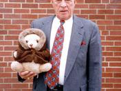 Joe Denardo with Ted E. Bear
