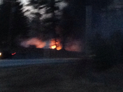 large fire just happening!
