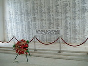 Arizona Memorial names of the fallen