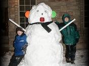 Supersized Grimes Snowman