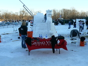Snow Carving: Grand View University