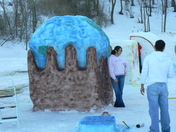 Snow Carving: One World