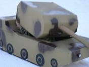 Cardboard Sled: Tank II
