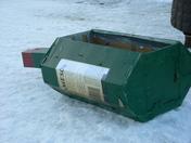 Cardboard Sled: Jameson