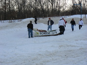 Cardboard Sled: Special Delivery