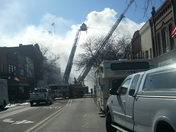 boone downtown fire