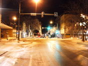 Street view at 10pm