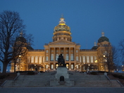 Blue Sky over State Capitol