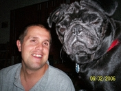 That is one BIG PUG!