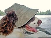 Laura Rafting the Missouri River