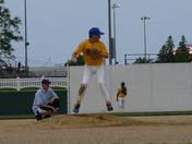 Blake Bagenstos pick off move