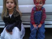 Chucky and his bride!