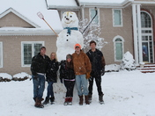 Giant snowman picture!