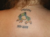 Frog Tattoo for MOM