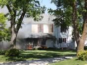 House Fire  1105 Oak Street in Guthrie Center