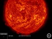 Our Star Filament Eruption