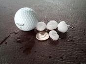 Hail far northeast Ankeny