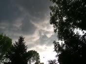 Video of spinning clouds in Ankeny