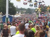 A busy first Sunday at the Iowa State Fair
